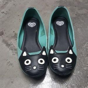 TUK Meow Ballet Flats